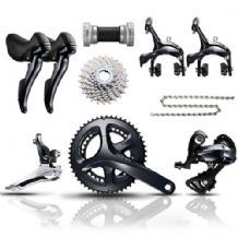 SHIMANO SORA R3000 FULL GROUPSET - DOUBLE - 9 SPEED